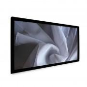 """Стационарные экраны Dragonfly 16:9 на раме Fixed 145"""" DF-SL-145-MW полотно  MW (Matt White, 1.25)"""