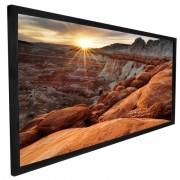 """Стационарные экраны Dragonfly 16:9 на раме Fixed 145"""" DF-SL-145-UW полотно  UW 4K (Ultra White, 1.0)"""